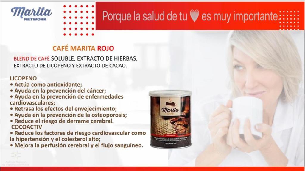 café rojo marita